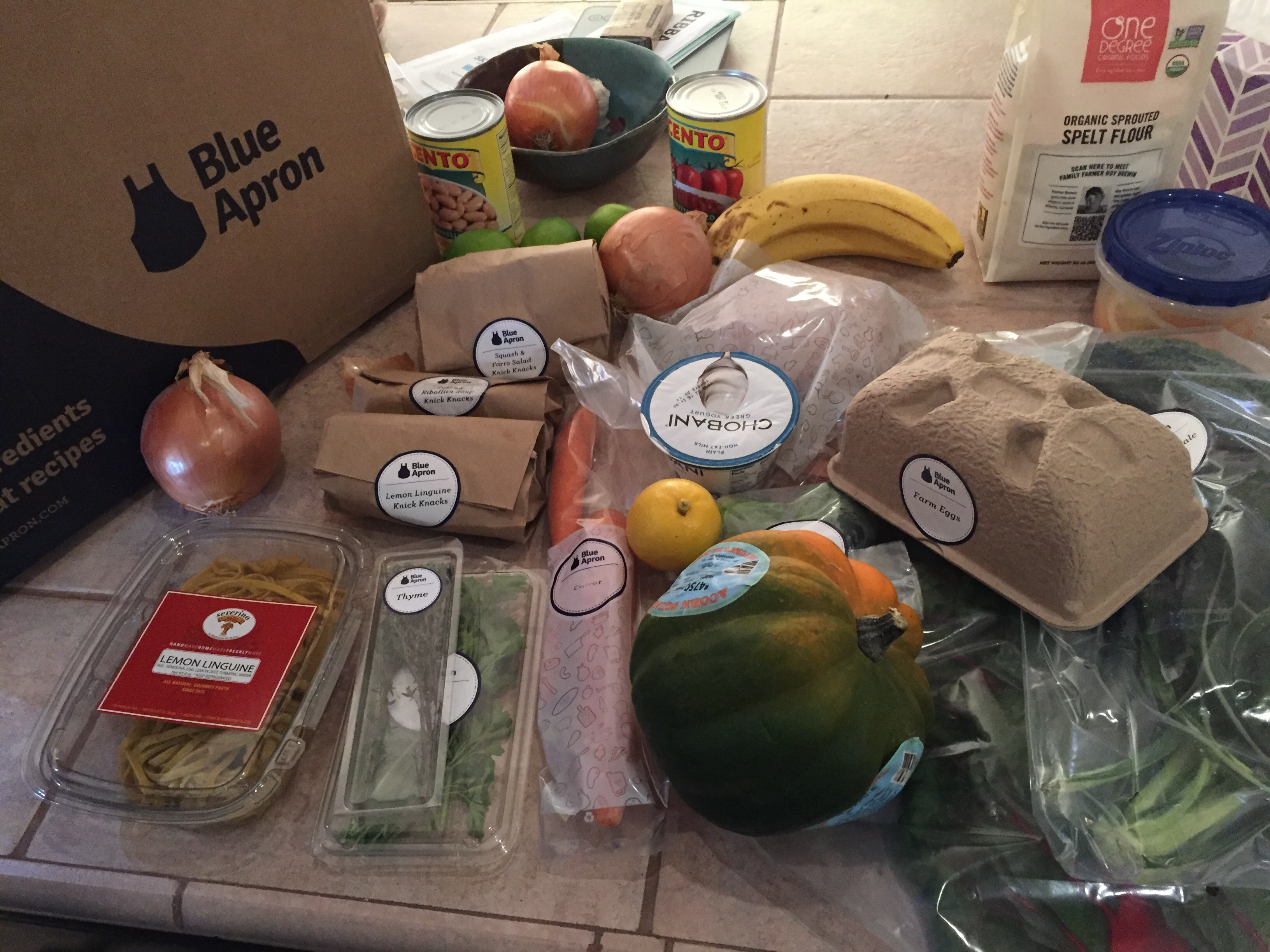 Blue apron fails - The Friday Before My Birthday We Got Our First Box I Hadn T Requested Vegetarian But Selected No Beef So Everything That Week Came Vegetarian